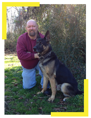 Mike Bullock Police Dog Trainer Greenville